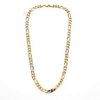 MONO Jewelry สร้อยคอทองลายอิตาลี่คล้องเส้นแบนสำหรับผู้ชายขนาด 2 บาท รุ่น JJS0050G