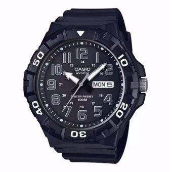 Casio Standard นาฬิกาข้อมือผู้ชาย สายเรซิ่น รุ่น MRW-210H-1A