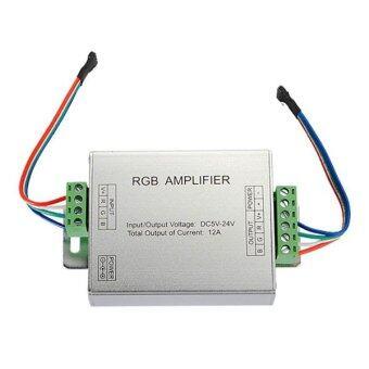 RGB SMD 5050 LED Strips Light Signal Amplifier 12V 12A ราคาถูกที่สุด ส่งฟรีทั่วประเทศ