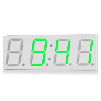 DS3231 5โวลต์ USB 3นิ้วแสดงผลนาฬิกาดิจิตอล led รถ-สีเขียวจาง