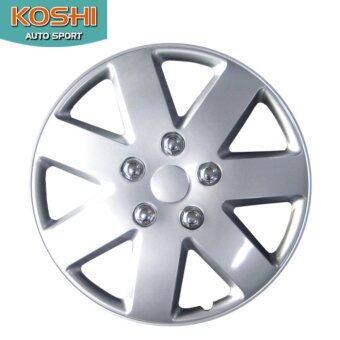 Koshi wheel cover ฝาครอบกระทะล้อ 14 นิ้ว ลาย 5058 (4ฝา/ชุด)