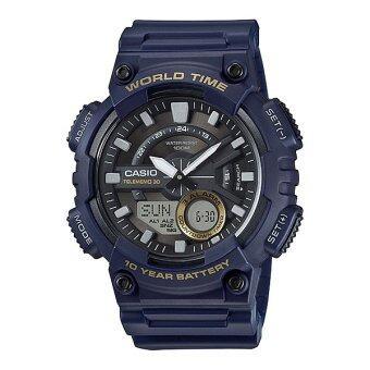 Casio Standard นาฬิกาข้อมือ 10 year battery รุ่น AEQ-110W-2A