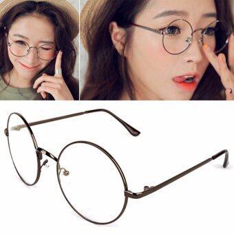 รีวิว แว่นตากรองแสง แว่นกรองแสง ทรงกลม รุ่น 901 Brown (กรองแสงคอม กรองแสงมือถือ ถนอมสายตา) สินค้ายอดนิยม