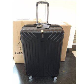 Chang Travel กระเป๋าเดินทาง 4 ล้อ #012 / ขนาด 24 นิ้ว (สีดำ)