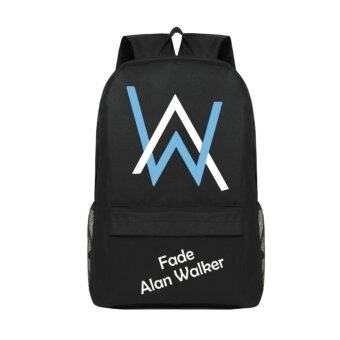 Harga Alan Walker Faded Trendy Top Quality Women Canvans Backpack Bag Just for Alan Walker Fans - intl