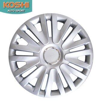 Koshi wheel cover ฝาครอบกระทะล้อ 15 นิ้ว ลาย 5063 (4ฝา/ชุด)