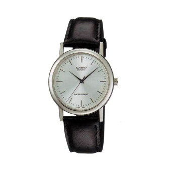 Casio นาฬิกาข้อมือผู้ชาย รุ่น MTP-1095E-7ADF (สีดำ)