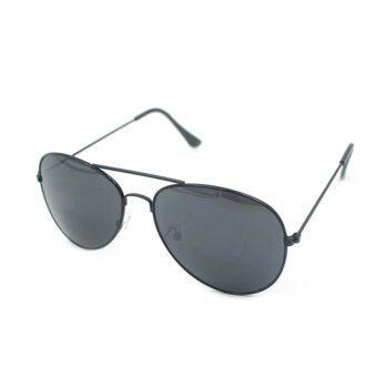UV400 แว่นตากันแดดแว่นตาผู้ชายเสื้อโลหะทองเลขที่ 1