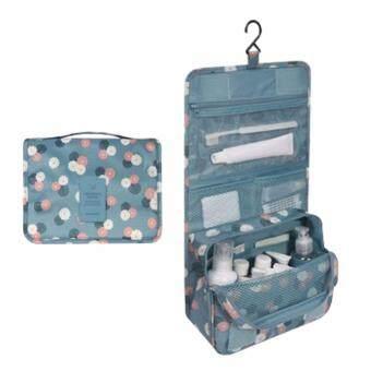 กระเป๋าใส่อุปกรณ์อาบน้ำ เครื่องสำอางค์ อเนกประสงค์ ฟ้าเดซี่