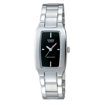Casio นาฬิกาข้อมือผู้หญิง รุ่น LTP-1165A-1CDF Silver (สีเงิน)