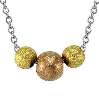 555jewelry สร้อยพร้อมจี้ลูกบอล รุ่น FSNK10 - สี Multicolors