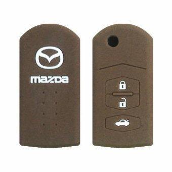 ซิลิโคนกุญแจ MAZDA 01 สีน้ำตาล