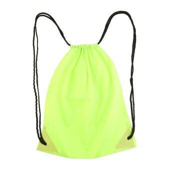 กระเป๋าพรีเมี่ยมพลาสติกหูรูด...โรงเรียนกีฬาว่ายน้ำกีฬาลีลาศรองเท้ากระเป๋าเป้สีเขียว