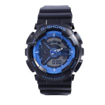 SHHORS GOLD Sport Watch นาฬิกาข้อมือ นาฬิกาสปอร์ต นาฬิกาออกกำลังกาย สไตล์นักกีฬา นาฬิกากันน้ำ สไตส์ นาฬิกาG Shock