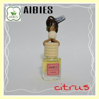 aibies [กลิ่นส้ม] น้ำหอมรถอโรม่า ปลอดแอลกอฮอล์ ขนาด 4 mL