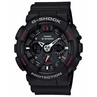 Casio G-Shock นาฬิกาข้อมือรุ่น GA-120-1ADR - ประกัน CMG 1 ปี