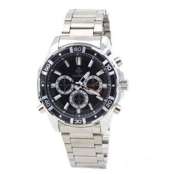 ข้อมูล Sevenlight นาฬิกาข้อมือผู้ชาย กันน้ำได้ รุ่น GP9170 (Black/White) พิเศษแถมซองนาฬิกาสุดหรู รีวิว
