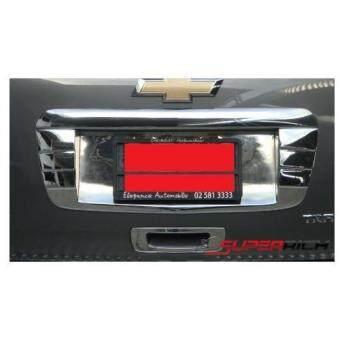 SA แผ่นรองป้ายทะเบียนท้าย (License Plate Trim) (โครเมี่ยม)/ Chevrolet Trailblazer 2016