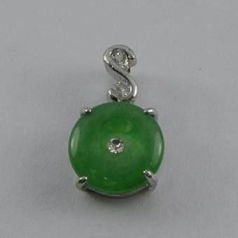 Pearl Jewelry จี้ห้อยคอกลม PD14