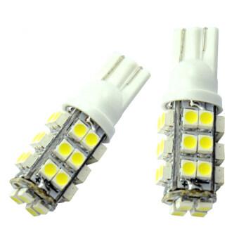 LED ไฟหรี่ T10 SMD 28 ดวง 1 คู่ ( สีขาว )