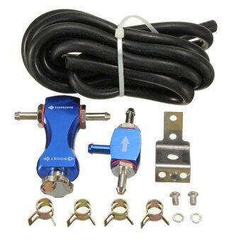S & F Car Adjustable Manual Turbo Boost Tee Controller Petrol Turbocharger Boost Valve Blue - Intl ราคาถูกที่สุด ส่งฟรีทั่วประเทศ