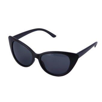 โอ้หญิงสาวสไตล์วินเทจแมวตาเรโทรแว่นตาแว่นตากันแดดอะบิลลี