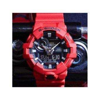 Casio G-Shock นาฬิกาข้อมือรุ่น GA-700-4ADR - ประกัน CMG 1 ปี