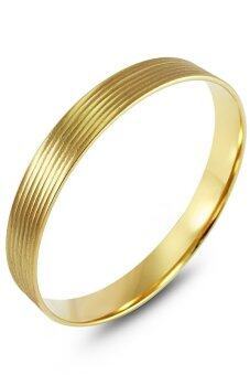 555jewelry กำไลสำหรับสุภาพสตรี รุ่น FSBG123-B ( Gold )