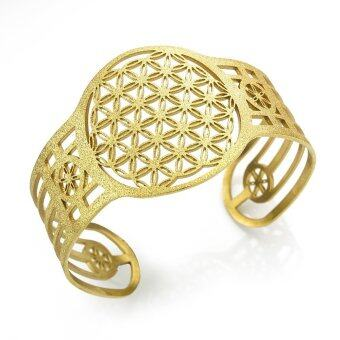 555jewelry กำไล รุ่น FSBG137-B (Yellow gold)