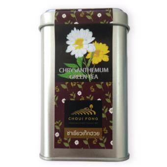 ชาเขียวเก๊กฮวยไร่ชาฉุยฟง บรรจุในกระป๋อง จำนวน 8 ซอง