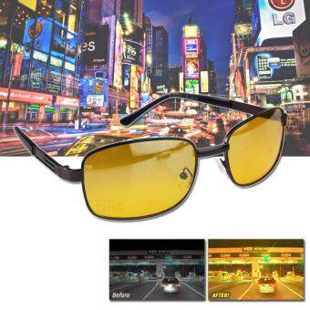Elit แว่นตากลางคืน ป้องกัน UV400 แว่นตาขับรถเวลากลางคืน แว่นกันแดด