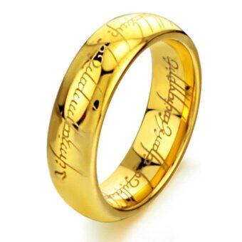 Harga Fashion Men's Ring Couples The Lord of The Rings and Tail Ring Personality Domineering - intl