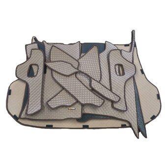 Matpro พรมปูพื้นเข้ารูป 100% ลายกระดุม ชุด Full Coverage Set 16 ชิ้น - ALL NEW TOYOTA FORTUNER 2015-2016 (น้ำตาล) แถมฟรี แผ่นรอง Magic Pad วางของในรถ