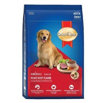 Smartheart อาหารเม็ดสุนัข โต รสเนื้ออบ ขนาด 3kg