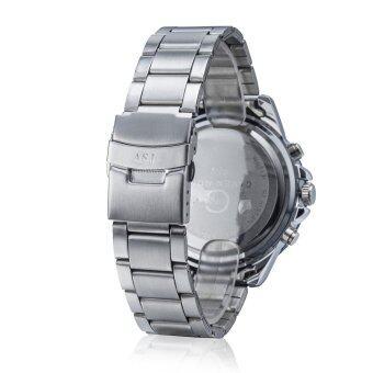 นาฬิกาข้อมือสไตล์ควอตซ์กีฬาทหารแบบนักธุรกิจชาย