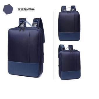 KS กระเป๋าเป้สะพายหลัง กระเป๋าใส่โน๊ตบุ๊ค + แท็บเล็ต Notebook รุ่น 8126 (สีน้ำเงิน)