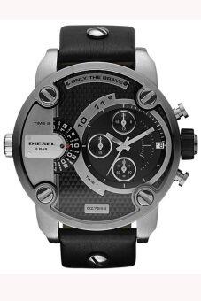 Diesel DZ7256 คล้ายคลึงสีดำหน้าปัดนาฬิกาผู้ชายสีดำ