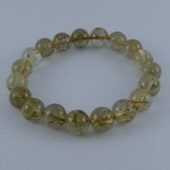 Pearl Jewelry กำไลหินไหมทอง A09
