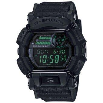 CASIO G-SHOCK รุ่น GD-400MB-1DR (CMG) นาฬิกาข้อมือ สายเรซิ่น สีดำ