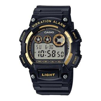 Casio Standard นาฬิกาข้อมือผู้ชาย สายเรซิ่น รุ่น W-735H-1A2V