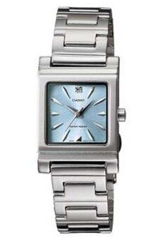 Casio นาฬิกาผู้หญิง สีเงิน สายสแตนเลส รุ่น LTP-1237D-2A2DF