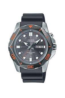 Casio Standard Men นาฬิกาข้อมือผู้ชาย สีเทา สายเรซิน รุ่น MTD-1080-8A