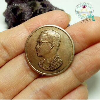 hindd เหรียญเคารพรัชกาลที่ 9 เนื้อทองเหลือง