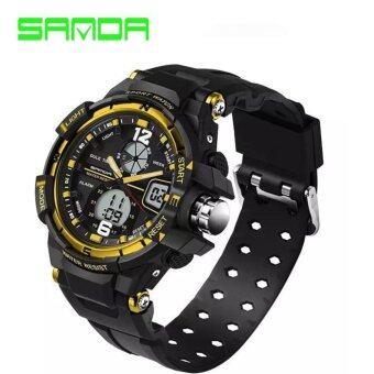 S SPORT นาฬิกาข้อมือ ชายและหญิง กันน้ำได้ดี GB9292