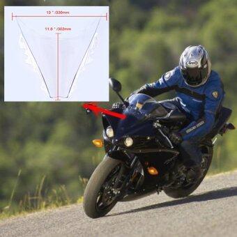 รถจักรยานยนต์ดับเบิลบับเบิล Windproof กระจกกระจกสำหรับ Yamaha R6 2006 ที่ 2007