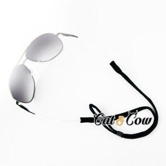 Cat & Cow รุ่น LC30-B, #สายคล้องแว่นตา Eyewear Retainer สีดำ
