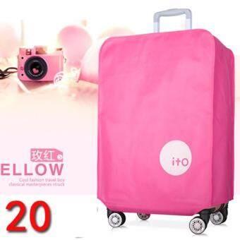 DC978ผ้าคลุมกระเป๋าเดินทาง ITO สีชมพู 20''
