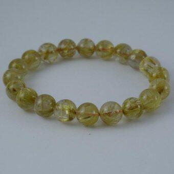 Pearl Jewelry กำไลหินไหมทอง A25