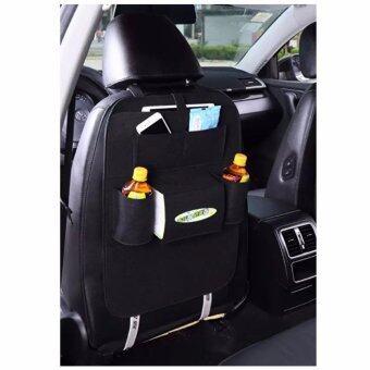 กระเป๋ามัลติฟังก์ชั่น กระเป๋าแขวนเบาะรถ กระเป๋าห้อยเบาะรถ เป้แขวนเบาะรถ เนื้อผ้ากำมะหยี่รุ่น สีดำMulti-function Velvet Bag for Car User (Black)