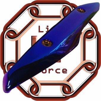 ครอบท่อกันร้อน PCX150 น้ำเงินไทเทเนียม(LF)